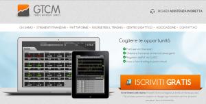 Sito web GTCM